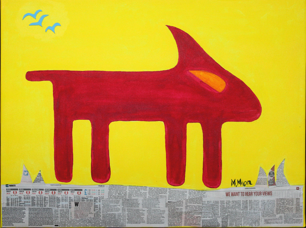 The dog (Tríptico Centro)